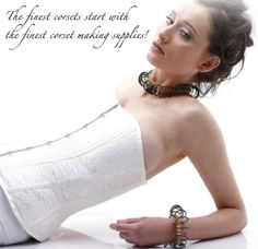 Corset Making Supplies: Corset Supplies, Corset Patterns, Corset Boning and more at great prices!