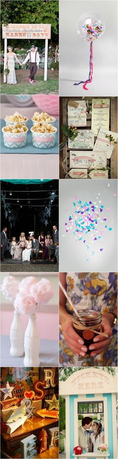 A Day at the Funfair – Your Wedding Theme Sorted! | weddingsonline