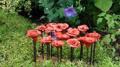 Bloemen blok buiten