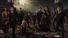 Banner série the vampire diaries