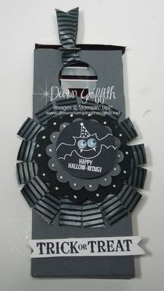 Wiggly Video _ use wire to make it wiggle _ Spooky Candy bar holder _ Dawn Griffth