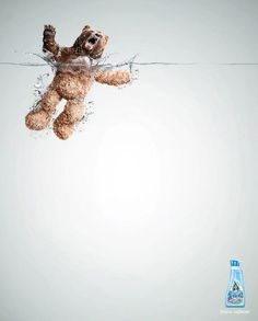 Lenor Fabric Softener - Publicity Campaign by Grey Group Peru Creative Advertising. A campaign by Grey Group Peru for Lenor fabric softener. If the wild animals come in touch with the softener, they become soft Creative Advertising, Print Advertising, Advertising Campaign, Print Ads, Marketing And Advertising, Funny Advertising, Advertising Ideas, Guerilla Marketing, Street Marketing