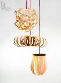 1000+ images about Holz Lampe - LJLAMPS.DE - Furnier Leuchte on ...