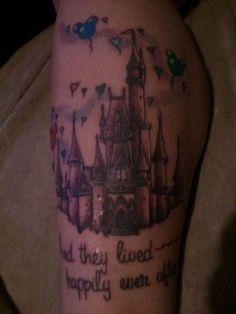 Disney castle tattoo | Snapbacks and Tattoos | Pinterest Disney Castle Tattoo, Disney Tattoos, Cute Tattoos, I Tattoo, Pixie, Tattoo Ideas, Trust, Faith, Spaces