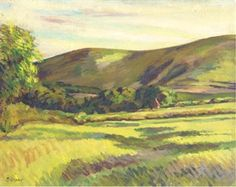 FIRLE BEACON By Duncan Grant, 1952