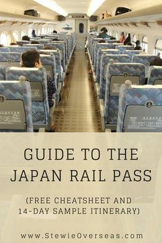 If you are thinking about buying the Japan Rail Pass (JR Pass) before you travel to Japan, read this guide! It tells you about the cost, the rules, and how to get the most value from your Japan Rail Pass. There's even a downloadable cheatsheet and 14-day sample itinerary! Click to read the full post! #japantravel #japanrailpass #traintraveljapan #jrpass