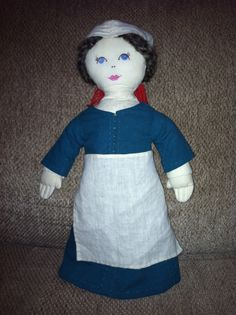 Growing Up Medieval: modern medieval family : a medieval doll