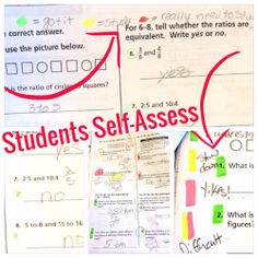 This will change the way your students self-assess and study! My test scores in math have gone up!
