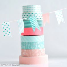 DIY BLOG | hemelsblauw - 50 ideeën met washi tape