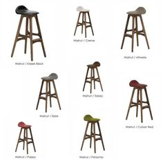 ERIK BUCH Model 61 iconic stool designs are a perfect addition to any international interior. Proudly Made in DENMARK.