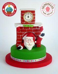 Babbo Natale In Pasta Di Zucchero Dolci E Torte Picture cakepins.com