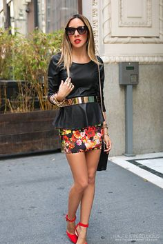 Banded Floral Chic