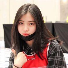 Memories Of Hwang - Hyunjin Ulzzang Korean Girl, Cute Girl Face, Aesthetic Hair, Hey Girl, Beautiful Asian Girls, Woman Crush, K Idols, Me As A Girlfriend, Girl Crushes