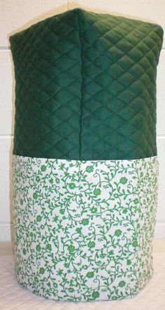 Hunter Green Quilted Green Ivy Vine Cover for Ninja Ultima Blender w/4 Pockets