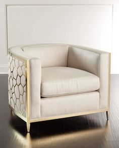 Shop Golden Curved Chair from caracole at Horchow, where you'll find new lower shipping on hundreds of home furnishings and gifts. Painting Wooden Furniture, Fine Furniture, Cheap Furniture, Rustic Furniture, Luxury Furniture, Vintage Furniture, Living Room Furniture, Modern Furniture, Living Room Decor