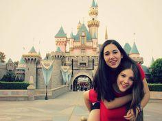 Go to Disneyland with my bestfriend, DONE ✔ @Aubrey Godden Coddington @Hailey Phillips Coddington