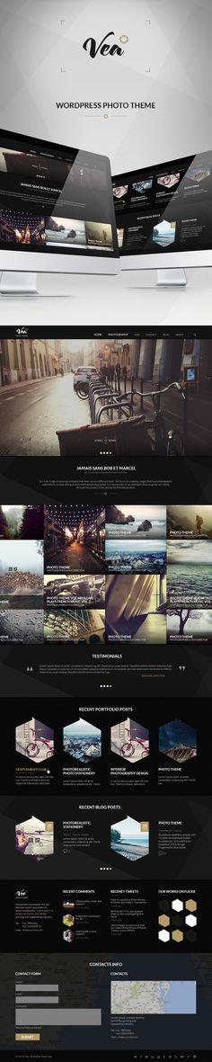 WP PHOTO THEME  on Behance