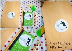 "Kate always knows what she wants and for her birthday party, she insisted on a ""spy party."" Honestly, I did whatever I could to change. Spy Birthday Parties, Spy Party, 9th Birthday, Party Time, Birthday Ideas, Nancy Drew Party, Detective Party, Mystery Parties, Mystery Dinner"