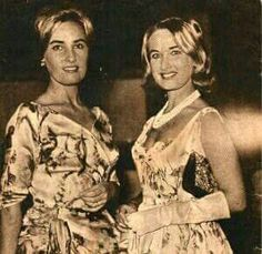 Hermanas Mirtha y Silvia Legrand