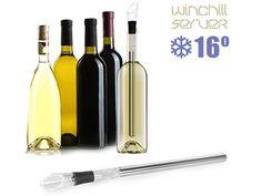 El Enfriador de Vino Winchill Server te permitirá disfrutar de un vino fresco en cuestión de unos instantes. Se trata de un magnífico invento, realmente práctico y con un diseño muy elegante. Tu vino siempre a la temperatura perfecta ¡Quedarás como el mejor anfitrión!