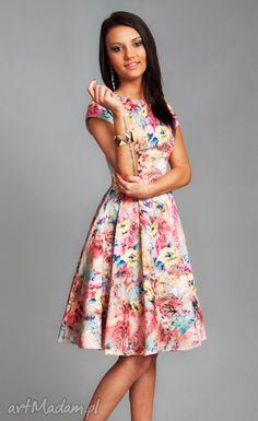 Sukienka april midi melissa sukienki livia clue kwiaty pastele