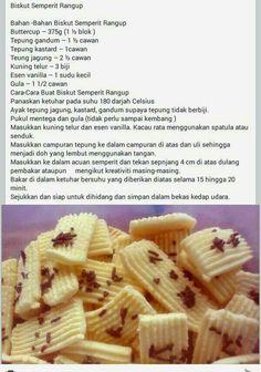 Biskut semperit rangup Baking Recipes, Cookie Recipes, Snack Recipes, Dessert Recipes, Mochi Cake, Flan Cake, No Bake Cookies, Yummy Cookies, Sweet Desserts