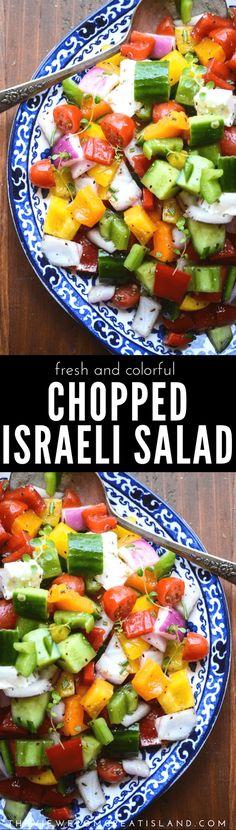 Israeli Salad -leave