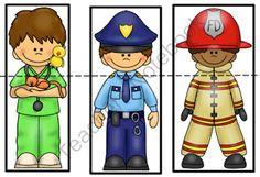 Preschool Printables: Helpers in our community Preschool Social Studies, Preschool Themes, Preschool Printables, Preschool Lessons, Preschool Classroom, Preschool Art, Creative Activities, Toddler Activities, Community Helpers Crafts