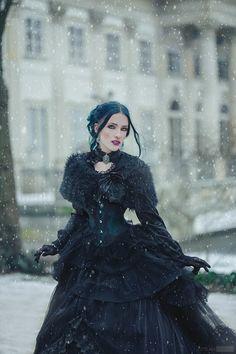 Model: Daedra Photo: Śliwkowapanna Fotografia Dress: @Sinister MUA: @lisipedzelmakeup Welcome to Gothic and Amazing  www.gothicandamazing.com
