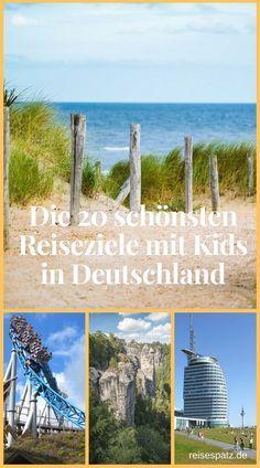 Die schönsten Reiseziele mit Kindern in Deutschland. Hier werden Familien fündig: 20 ganz unterschiedliche Reiseziele Deutschland. #deutschland #reisen #reiseziele