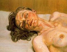 Girl with closed eyes - Lucian Freud