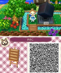 animal crossing qr codes paths pathways little bridge Animal Crossing 3ds, Animal Crossing Qr Codes Clothes, Acnl Qr Code Sol, Acnl Pfade, Photo New, Wooden Path, Acnl Paths, Motif Acnl, Ac New Leaf