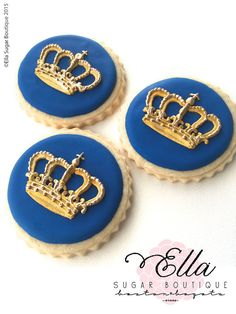 Items similar to Wedding Decorated Cookies- Crown Cookies - queen cookies - royalty cookies - gold crown cookies - english cookies - London cookies on Etsy Crown Cookies, Royal Icing Cookies, Sugar Cookies, Royal Theme, Royal Party, Fondant Molds, Cake Mold, Cake Decorating Tools, Cookie Decorating