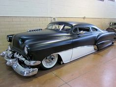Again, sometimes I don't like custom work and sometimes I do. This 1954 Chevy looks like a lean mean driving machine.