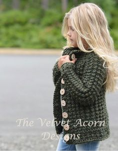 knitting pattern the obsidian sweater 2 3 4 5 6 7 8 9 10 11 12 s m l sizes - The world's most private search engine Diy Crafts Knitting, Knitting For Kids, Crochet For Kids, Free Knitting, Knit Crochet, Velvet Acorn, Sweater Knitting Patterns, Girls Sweaters, Crochet Clothes