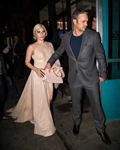 Lady Gaga and Taylor Kinney Look Like the Real-Life Cinderella and Prince Charming in NYC