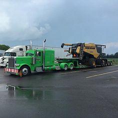 Semitrckn Huge Truck, Big Rig Trucks, Heavy Truck, Peterbilt 379, Peterbilt Trucks, Heavy Construction Equipment, Heavy Equipment, Custom Big Rigs, Custom Trucks