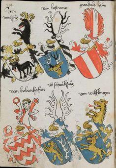 Wappenbuch des St. Galler Abtes Ulrich Rösch Heidelberg · 15. Jahrhundert Cod. Sang. 1084  Folio 285