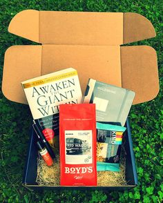 (Great boyfriend/husband GIFT) RebusBox is a monthly subscription box filled with 1 book on success and 3-4 lifestyle items. Check out our website and get yours today, or give as a gift for someone else. www.RebusBox.com