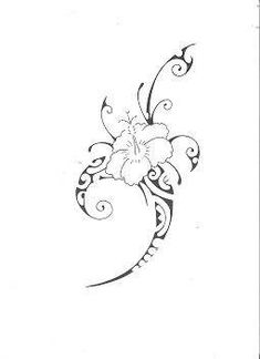 Maori-Flower – tattoos, You can collect images you discovered organize them, add your own ideas to your collections and share with other people. Polynesian Tattoos Women, Hawaiian Tribal Tattoos, Tribal Tattoos For Women, Polynesian Tattoo Designs, Maori Tattoo Designs, Tattoo Designs For Girls, Flower Tattoo Designs, Flower Tattoos, Samoan Tribal