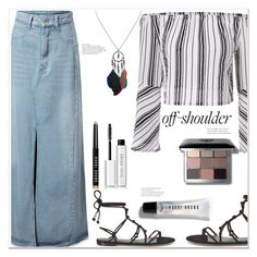 """""""Untitled #1544"""" by mycherryblossom ❤ liked on Polyvore featuring Rebecca Minkoff and Bobbi Brown Cosmetics"""