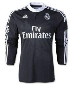 Camiseta Real Madrid tercera equipacion 2014/2015 ML