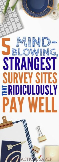 These 5 survey sites are the BEST! I make extra money and earn more income. Now, I am able to make money online and create passive income idea without a lot of effort. Definitely pinning! #makemoneyonline #surveysites #paidsurvey #frugalliving #freemoney #surveysitesthatpay #surveysitesformoney