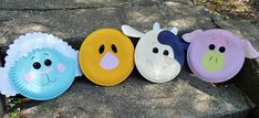 Easy Paper Plate Crafts | Easy paper pig craft. DLTKs Crafts for Kids Easy Pig Paper Craft. I ...