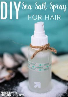 Do you want beach wavy hair that will make you the envy of your friends? It's easier (and cheaper) than you may think with this DIY sea salt spray for hair recipe. You'll need just 4 ingredients, 2 of which you probably already have, and take only minutes to whip up. Then spray your damp hair, scrunch with your hands, and go.