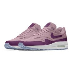 Nike Air Max 1 Premium iD Shoe. Nike.com ($160) ❤ liked on Polyvore featuring shoes, nike shoes, nike footwear and nike