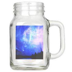 starry night mason jar