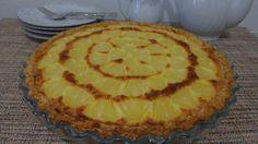 Tarte Hawaïenne, ananas noix de coco1