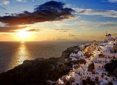 lugares-gostaria-de-estar-viagem-santorini-grecia-mar-rede-sol-5 (Foto: Thinkstock)
