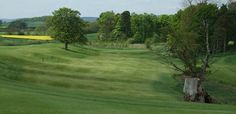 The Course is set over rolling pasture-land around Headlam Hall's gardens.